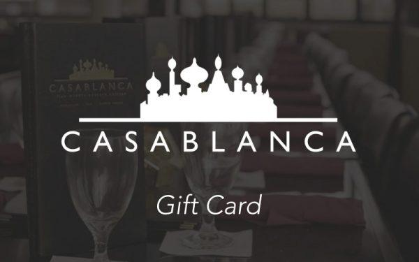 casablanca gift card